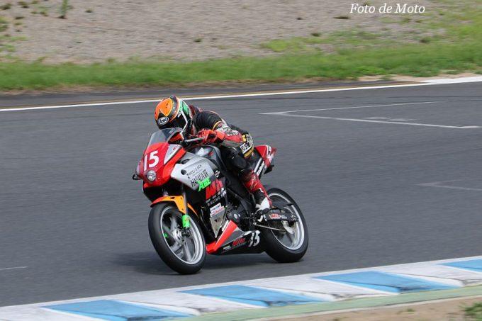 もて耐NST-CBR #15 WIN-RF 三上 勝/大堀 和基/三上 真矢 Honda CBR250R