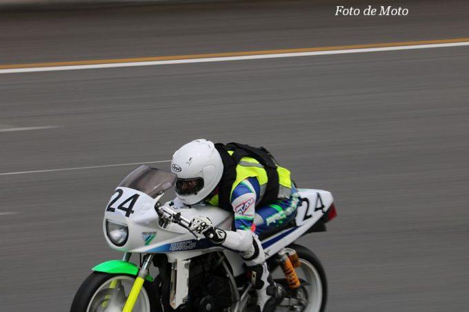 もて耐AS #24 結城レーシング 田村 幸樹/立石 数一/小堀 哲/田村 信幸 Honda CBX-250S