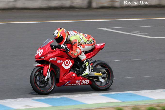 もて耐WT #090 テルル·MotoUPレーシング 富田 一輝/豊島 智博/斉藤 魁/藤井 謙汰 Honda CBR250RR