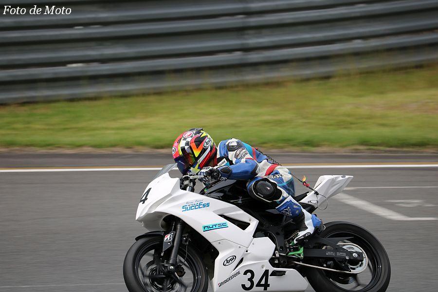 ST250S #34 凸凹レーシングチーム 西村 浩平 Kawasaki NINJA250SL
