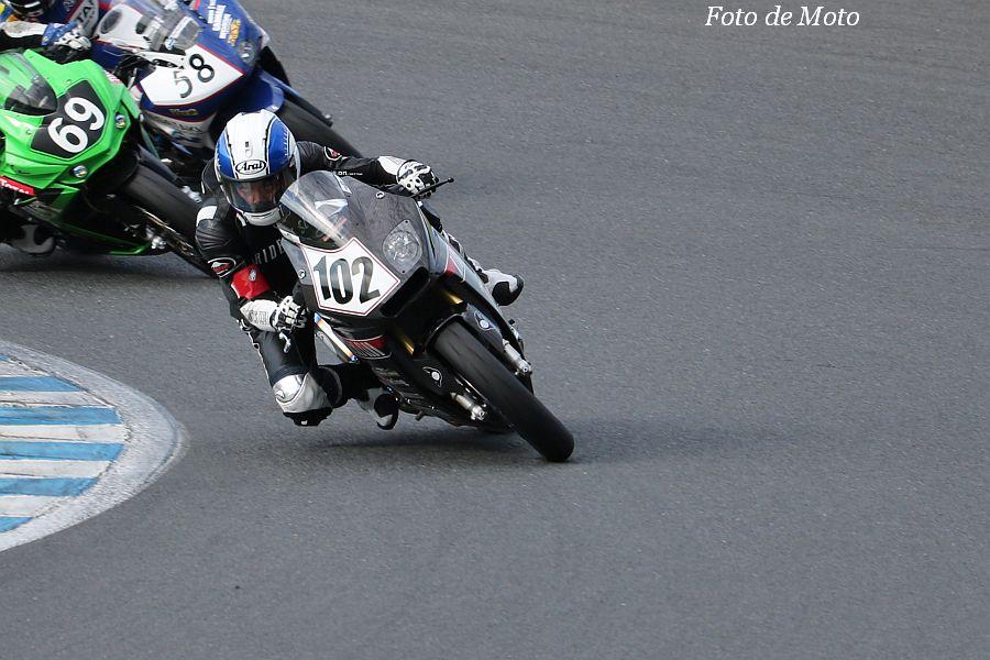 もて耐WT #102 RIDERS CLUB RT 小川 勤/薄井 徹也/原田 哲也/蛭田 貢 Honda CBR250R