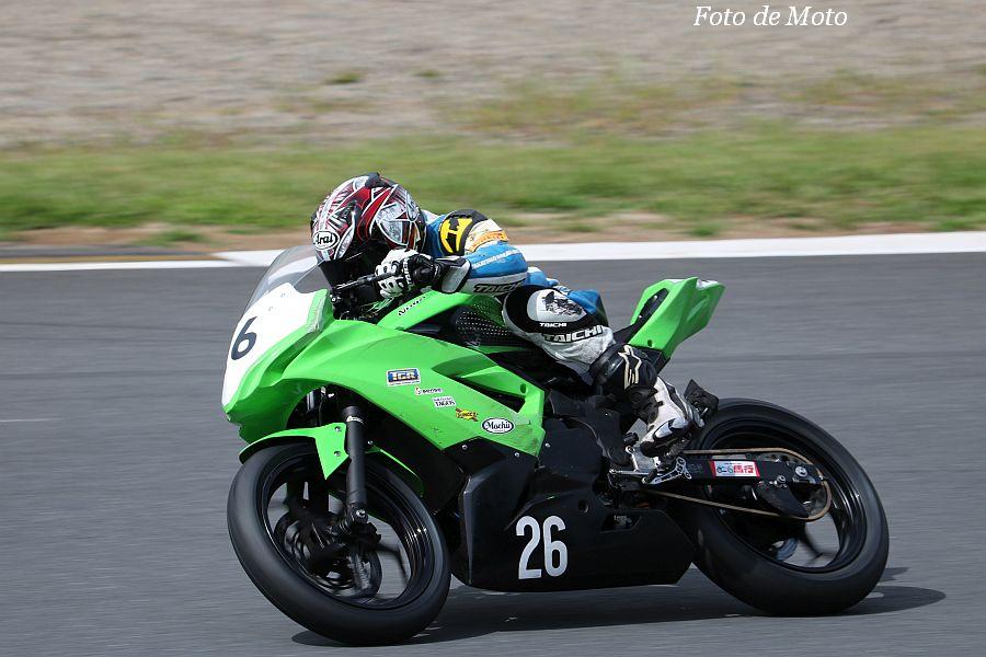 ST250S #26 TGR 鈴木 秀知 Kawasaki Ninja250SL