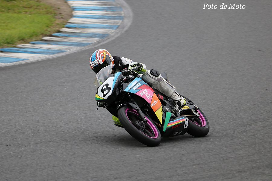 ST250S #8 TEAM御友達withもて走会 渡辺 千春 Honda CBR250R