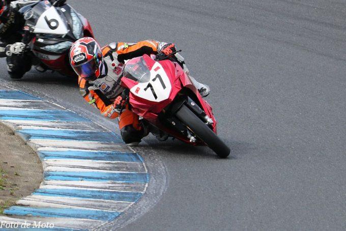 ST250T Eternal #77 Team KYOEI with Taisyo-kensetu 安納 晃 Kawasaki Ninja 250