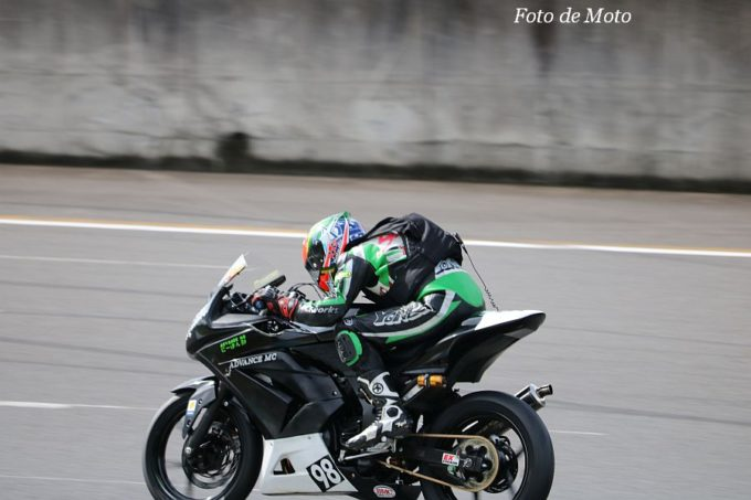 ST250T Eternal #98 ADVANCE MC & CLAYMORE 佐藤 真 Kawasaki Ninja250R