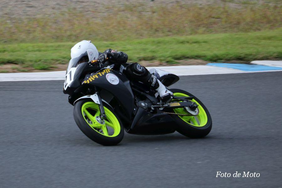CBR250R #21 シバタファクトリー·広島高潤 藤野 美紀 Honda CBR250R