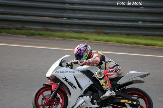 CBR250R #19 AZABU RACING with M GARAGE 本間 條久 Honda CBR250R