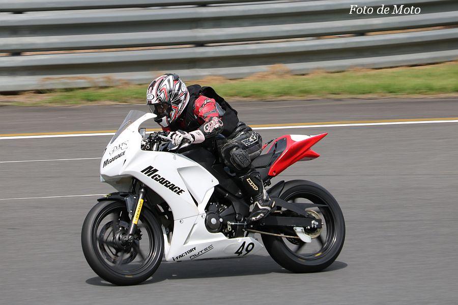 CBR250R #49 Mガレージ&PoorS 新田 公 Honda CBR250R