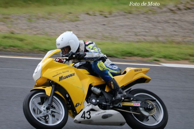 CBR250R #43 nekomata Racing 田口 智之 Honda CBR250R