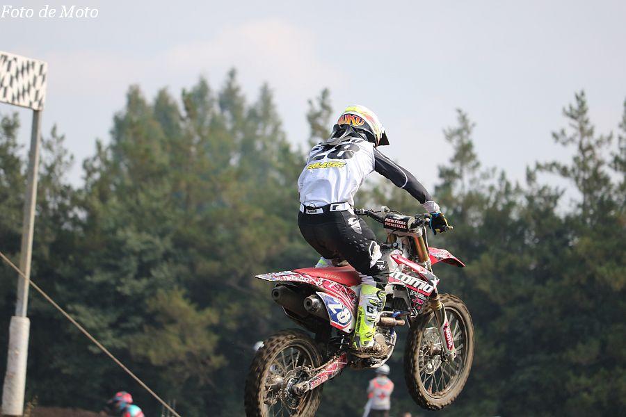IB-OPEN #28 Team ITOMO 柴田 夢来 Honda CRF250R