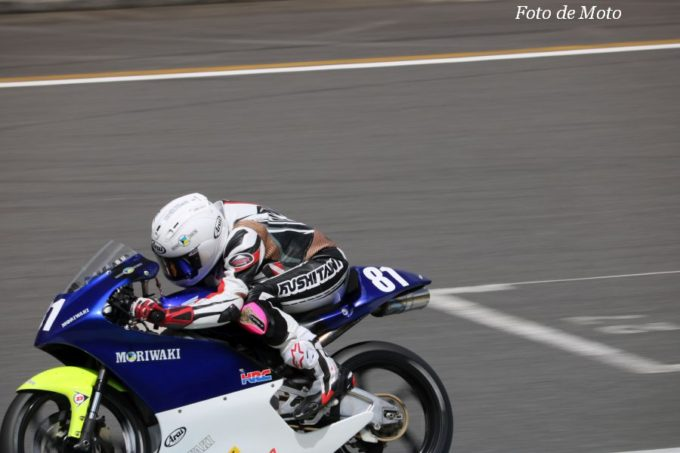 J-GP3 #81 Moriwaki Club Senna Agius Honda NSF250R
