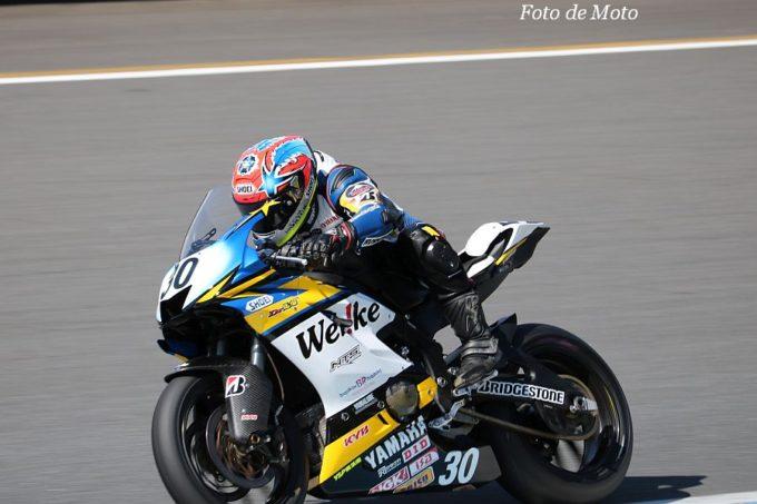 J-GP2 #30 ウエビックチームノリックヤマハ 阿部 恵斗  Yamaha YN6