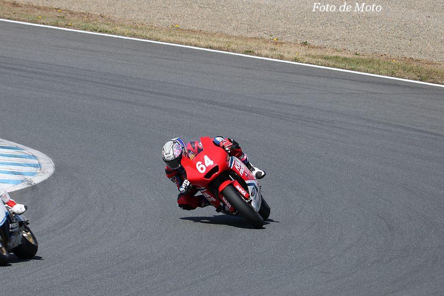J-GP2 #64 KIMA Racing 伊達 悠太 HONDA HP6
