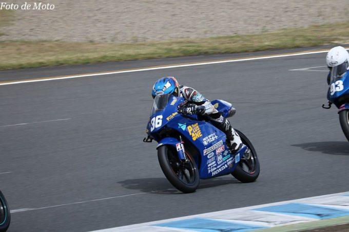 J-GP3 #36 Team Plusone 福島 佑斗 HONDA NSF250R