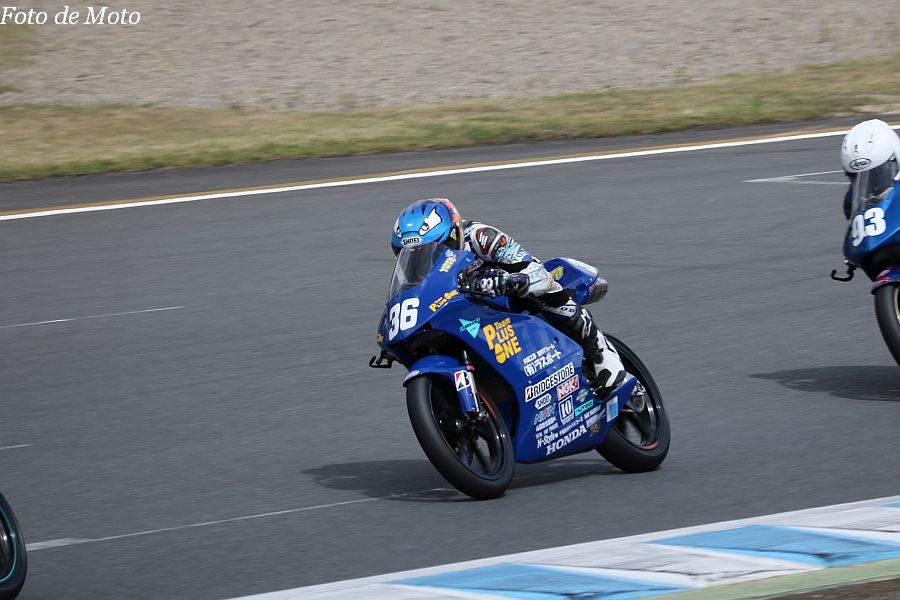 J-GP3 #36 Team Plusone 福島 佑斗 HONDA NSF250R