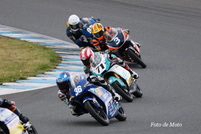 J-GP3 #71 Team P.MU 7C MIKUNI 小室 旭  Honda NSF250R