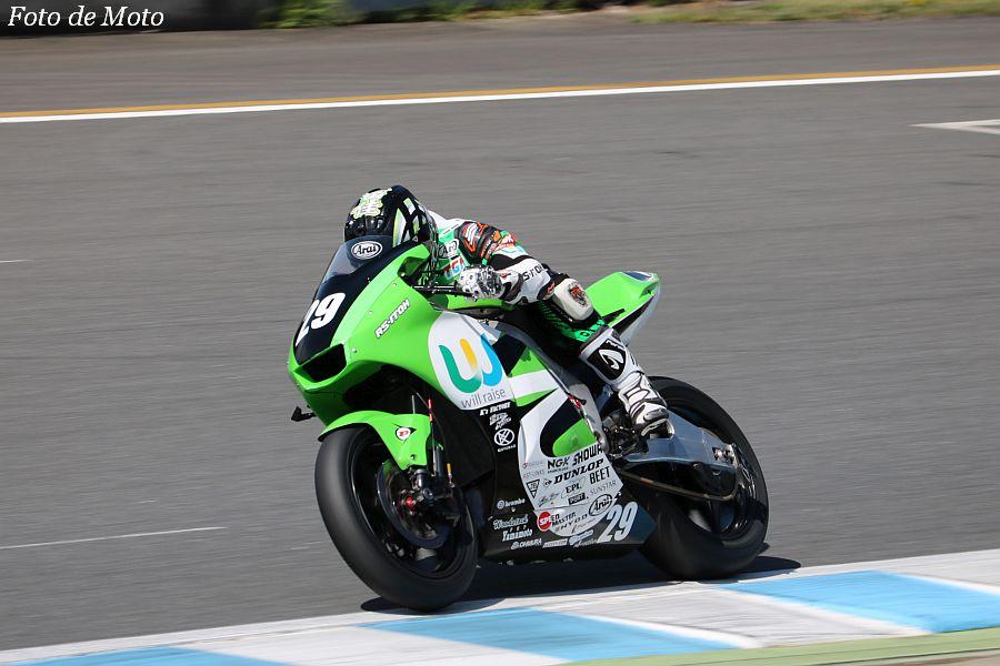 J-GP2 #29 will-raise racingRS-ITOH 和田 留佳 KAWASAKI ZX-6R