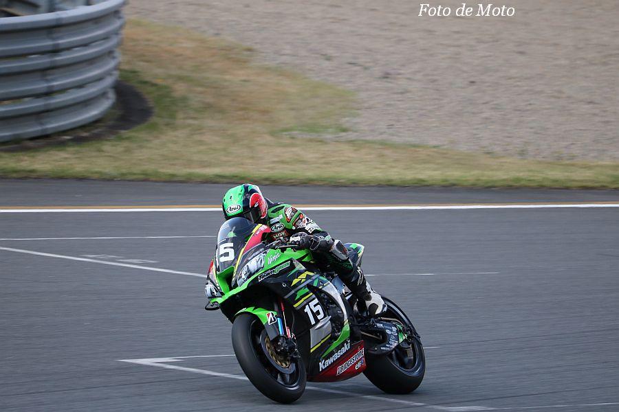 JSB1000 #15 Kawasaki Team GREEN 松﨑 克哉 KAWASAKI ZX-10RR