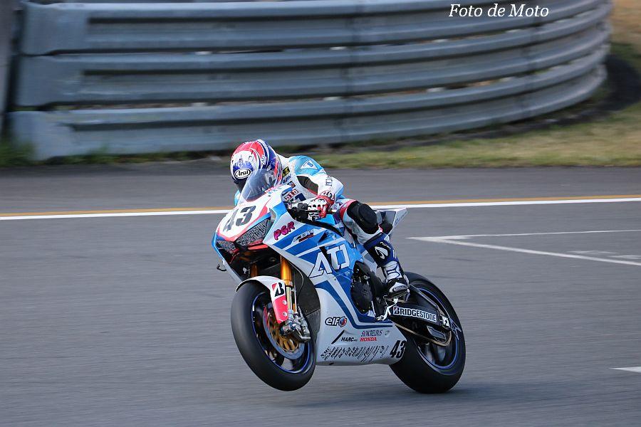 JSB1000 #43 ATJ Racing 中津原 尚宏 HONDA CBR1000RR