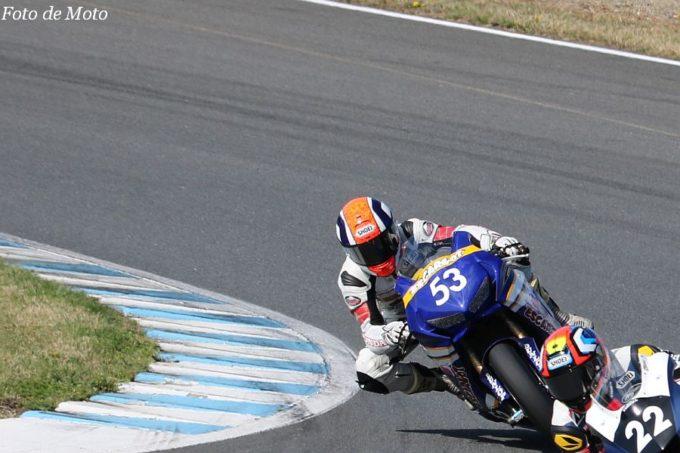 JSB1000 #53 Honda浜松エスカルゴ&DREAM高崎 清水 郁巳 HONDA CBR1000RR SP2
