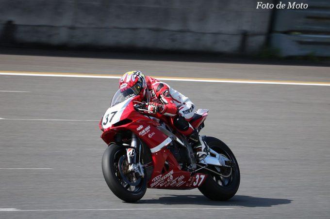 JSB1000 #37 チームスガイレーシングジャパン 須貝 義行 アプリリア  RSV4 RF