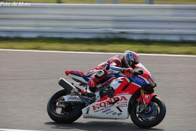 JSB1000 #1 Team HRC 高橋 巧 Honda CBR1000RRW