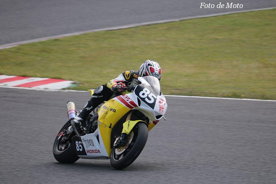 JSB1000 #85 HondaQCT明和レーシング 安藤 元之 Honda CBR1000RR
