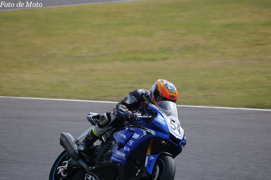 JSB1000 #54 TWO WHEEL KOREA BRIAN KIM SUZUKI GSX-R1000R