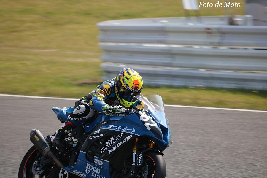 JSB1000 #62 クラブ·エスポイント&AZRナリデン 加藤 久幸 Kawasaki ZX-10R