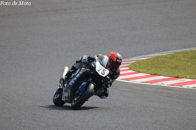 JSB1000 #75 YAMALUBE RACING TEAM 前田 恵助 YAMAHA YZF-R1