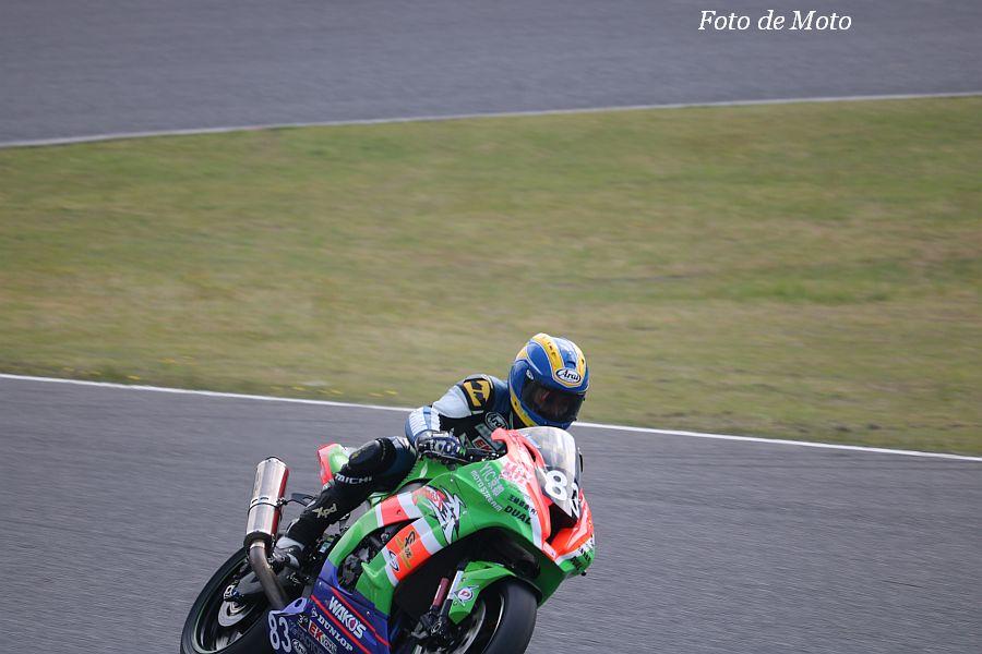 JSB1000 #83 山科KR&オートレース宇部·BR·YIC 松本 正幸 Kawasaki ZX-10R