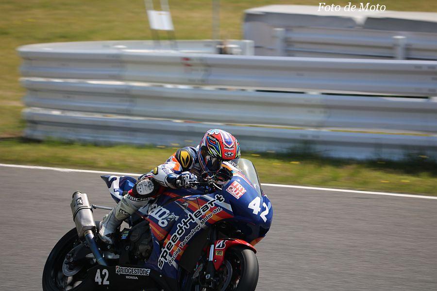 JSB1000 #42 Speed Heart TTS Racing Team 中村 敬司 Honda CBR1000RR