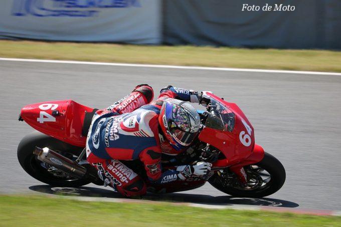 J-GP2 #64 KIMA Racing 伊達 悠太 HARC-PRO HP6