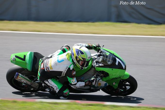 J-GP2 #7 will-raise racingRS-ITOH 石塚 健 KAWASAKI ZX-6R