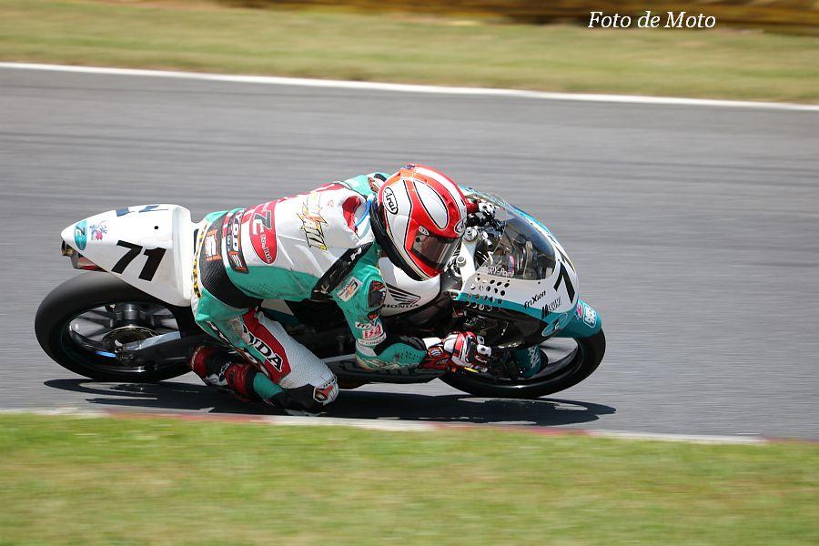 J-GP3 #71 Team P.MU 7C MIKUNI 小室 旭 HONDA NSF250