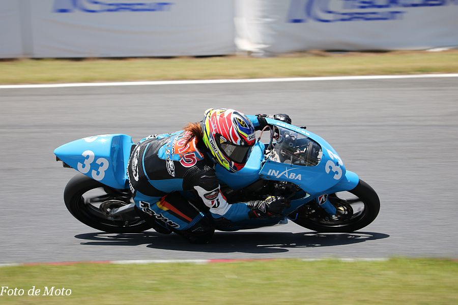 J-GP3 #33 TEAM SHOTA 中山 愛理 HONDA NSF250R