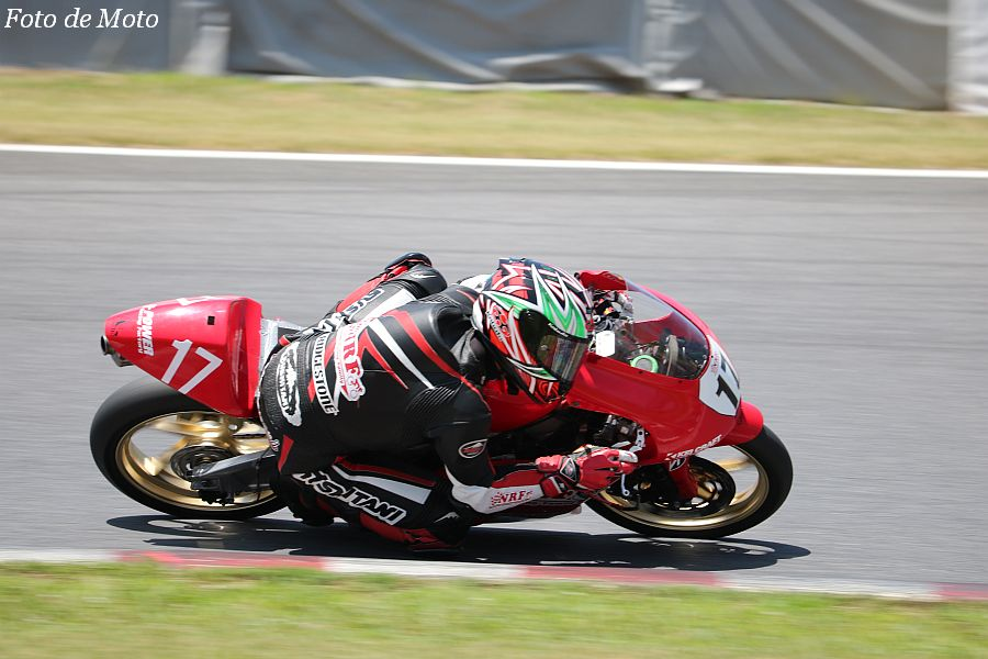 J-GP3 #17 ノザワレーシングファミリー 野澤 秀典 HONDA NSF250R