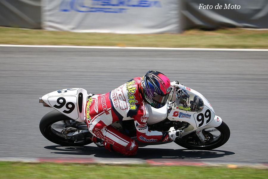 J-GP3 #99 Mistresa·MuSASHi sc./TC 坂田 和人 HONDA NSF250R
