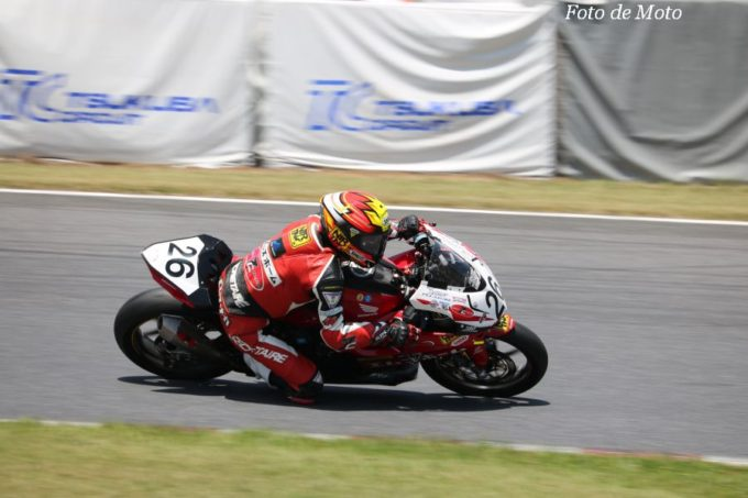 JP250 #26 7CエムズホームMissionMovers+CAC=NTR 田中 敬秀 Honda CBR250RR