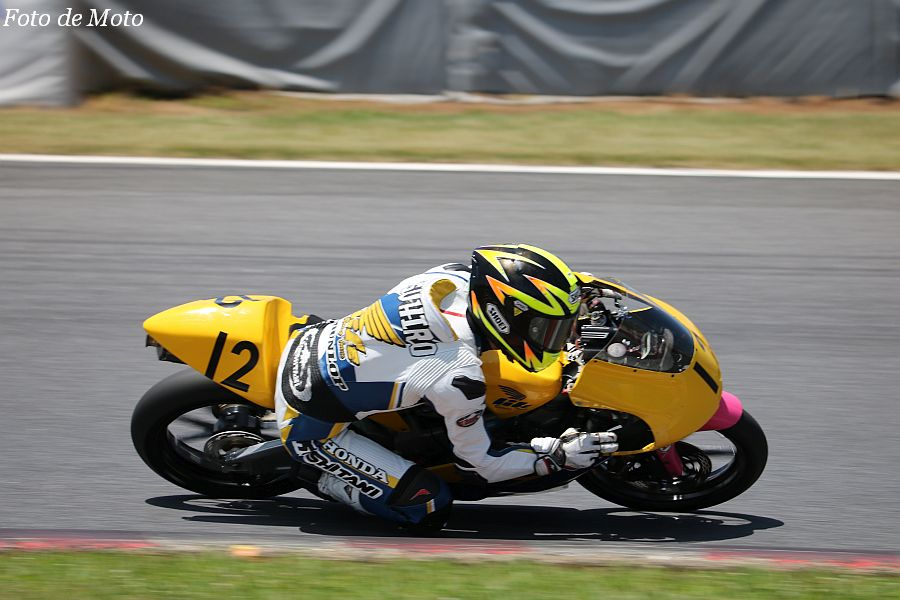 J-GP3 #12 チームライフ·ドリーム北九州 山本 恭裕 HONDA NSF250R