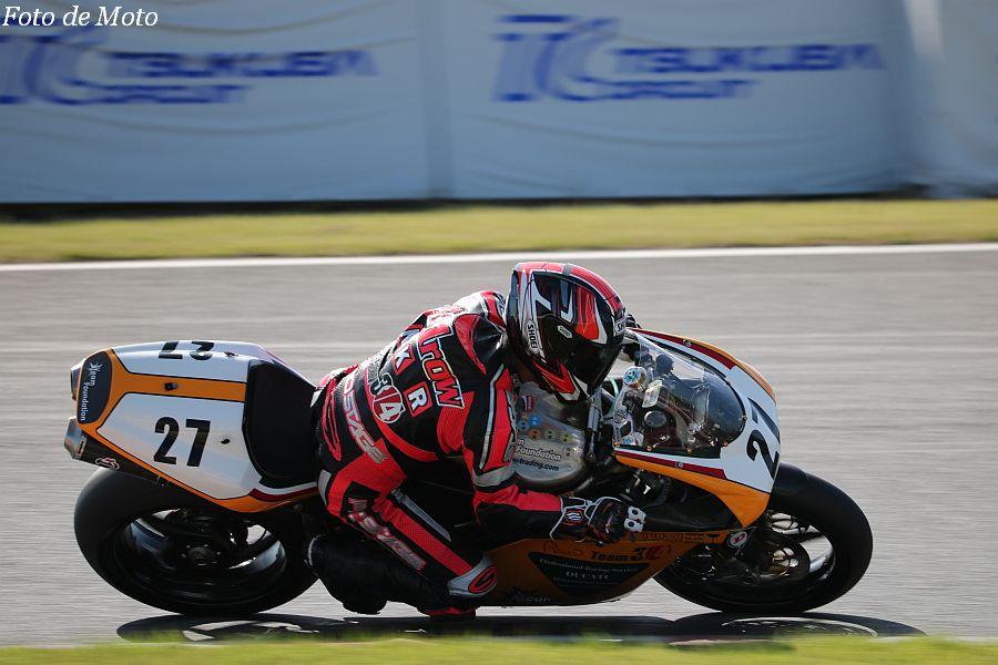 B.O.T.T. #27 Team3/4@TFD 舛井 宗一朗 Ducati 998
