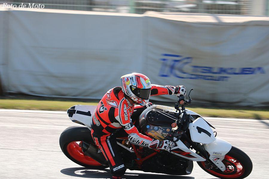 B.O.T.T. #1 KENZ·KTM Racing 松田 光市 KTM 1290S-DUKE R