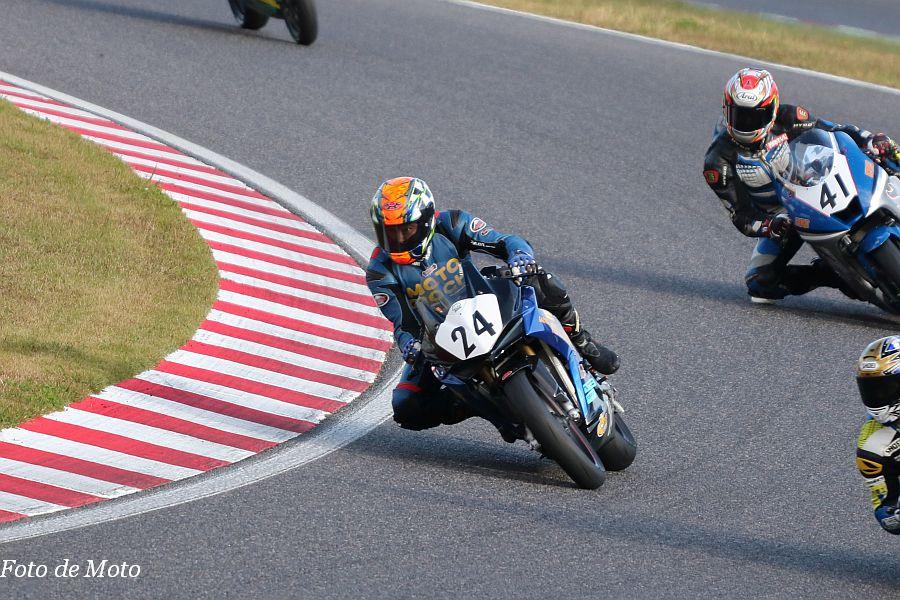 JP250 #24 ガレージ モトジョーキ 西口 裕之 Honda CBR250RR