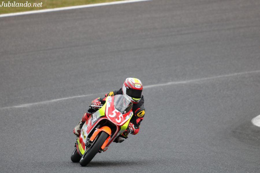 J-GP3 #55 Team RSC 有田 光 Honda NSF250R