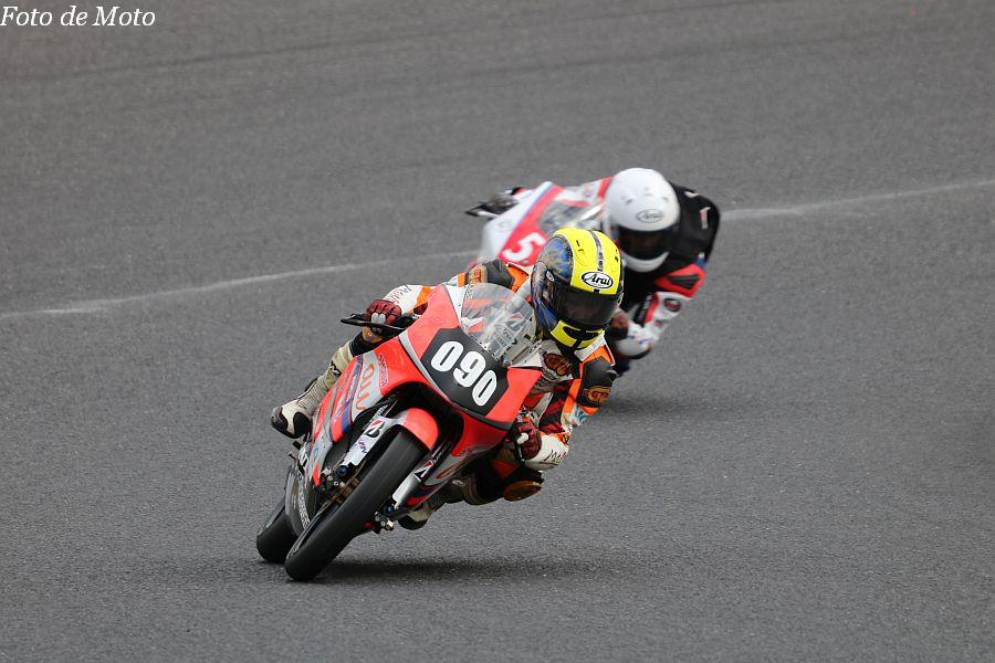 J-GP3 #090 au·テルルMotoUP RT 藤井 謙太 Honda NSF250R