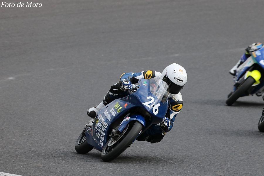 J-GP3 #26 ifレーシング AutoMac 翔天恭 金子 寛 Honda NSF250R