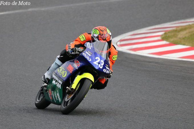 J-GP3 #23 FLEX Racing & MH OHARA 岸田 慶一 Honda NSF250R