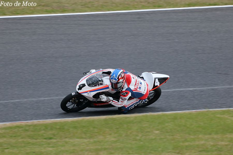 J-GP3 #4 TEAM SRS-Moto 中島 元気 Honda NSF250R