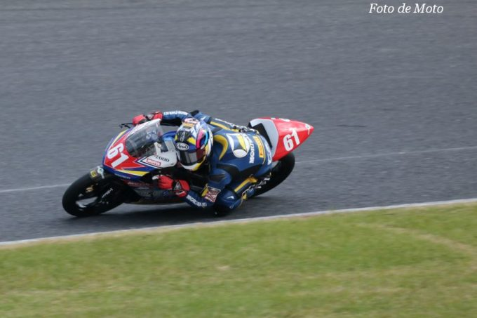 J-GP3 #61 MORIWAKI CLUB 岡谷 雄太 Honda NSF250R