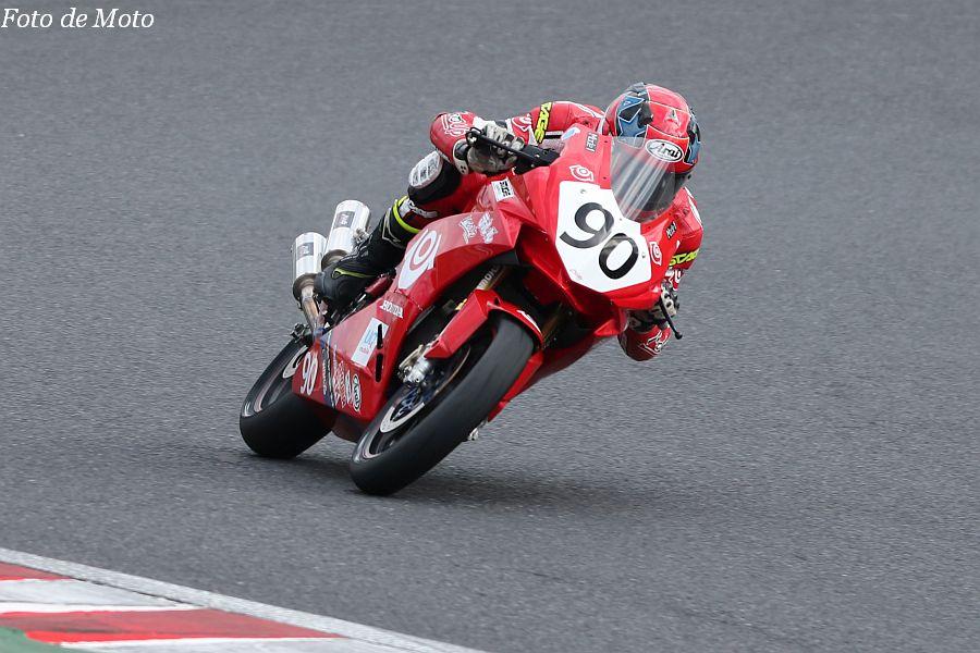 JP250 #90 テルル·MotoUP レーシング 齊藤 魁 Honda CBR250RR